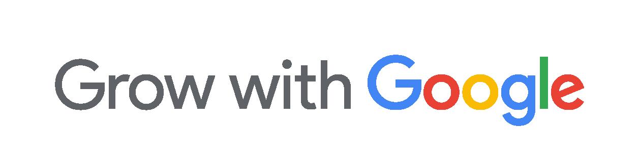 "The ""Grow with Google"" logo."