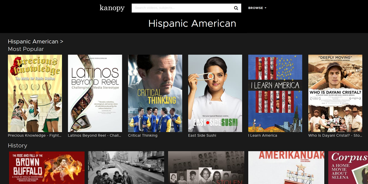 Kanopy film screenshot