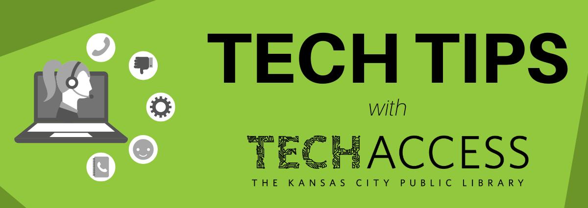 tech tips with tech access