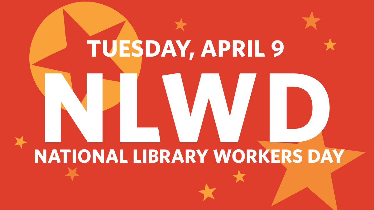 Library Workers Day graphic