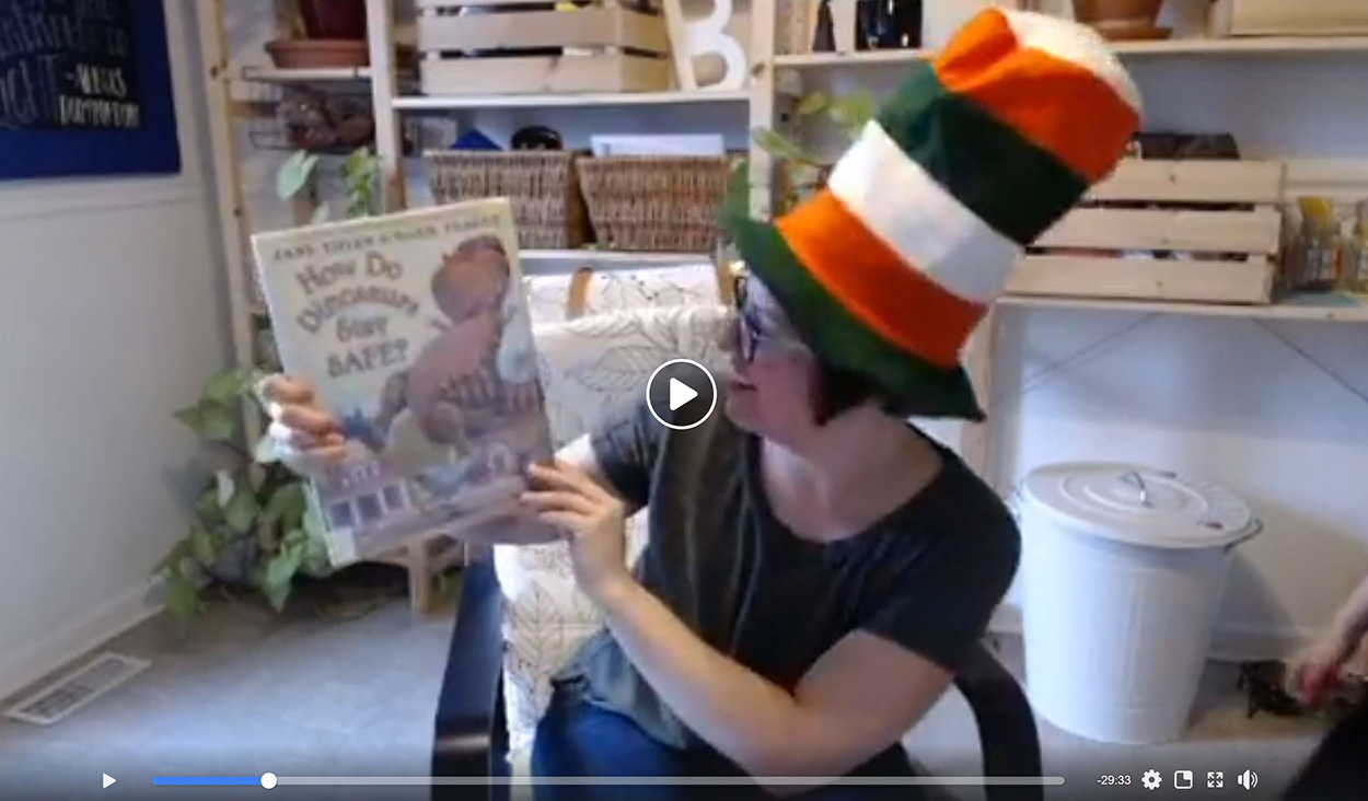Image of Facebook Live storytime