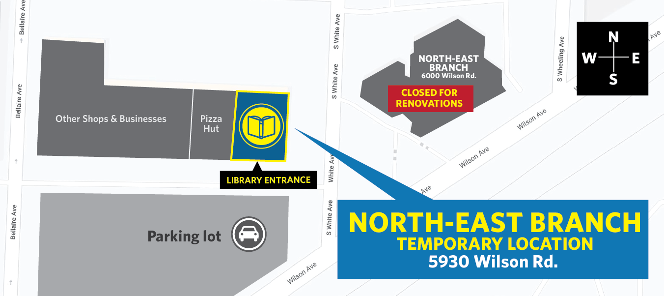 North-East Renovations Map graphic