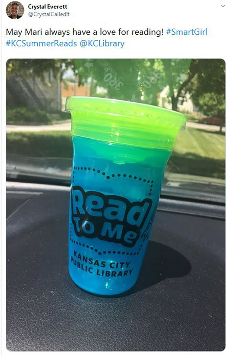 Summer reading social share