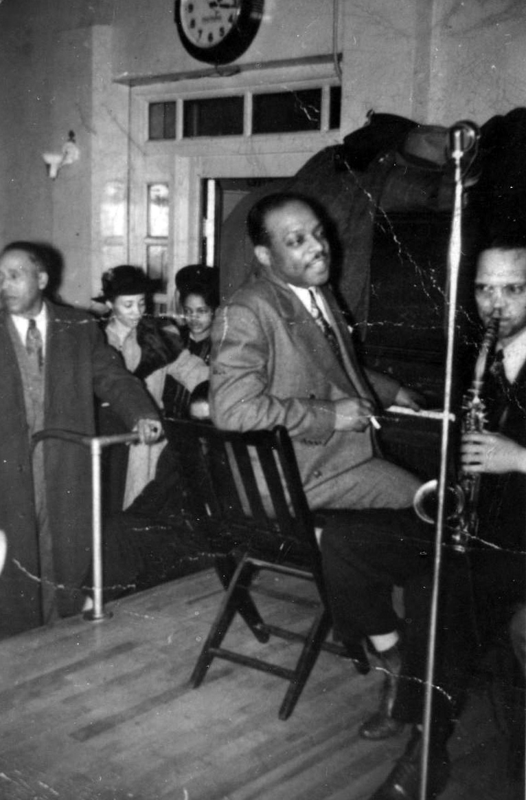 Count Basie & Herman Walder at the Blue Room