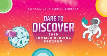 The Library launches an out-of-this-world learning adventure for all ages in this year's Summer Reading Program. As 2019 marks the 50th anniversary of the Apollo 11 moon landing, we invite readers to Dare to Discover a universe of books, events, and activities that celebrate science fact and fiction alike. To participate, youth and adults just need to get registered online (or at your local Library location). Read five books between June 1-July 31 (our mad scientist librarians have cooked up some stellar Su