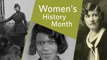 March is Women's History Month, and there are many ways to commemorate the lives and achievements of women throughout history and share experiences of today's women. Check out the collection of books, movies, and other resources available at the Library.