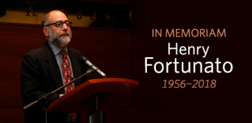 As the Kansas City Public Library's director of public affairs from June 2006 to August 2015, Henry Fortunato imagined and developed revolutionary public programming that earned national recognition and helped redefine the role of the modern library. On February 5, 2018, Fortunato died at his home after a short illness. He had turned 62 a month earlier.