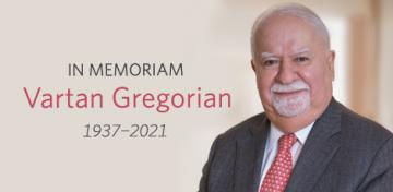 In Memoriam: Vartan Gregorian