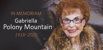 Gabriella Polony Mountain In Memoriam