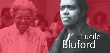 Lucile Bluford – namesake of the Library's L.H. Bluford Branch – was a local civil rights leader and helped make The Kansas City Call one of the most important African-American newspapers in the nation. During July, The Library celebrates Bluford's impact on the KC community and the nation at large.