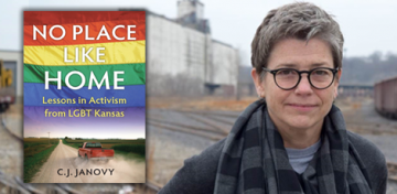 Kansas has seen advances in LGBT acceptance and rights over the past decade and a half that belies perceptions of one of the country's most famously red states. Progress has come fitfully, to be sure. But it has come nonetheless, and C.J. Janovy details the advances in both attitude and deed in the Library's latest FYI Book Club selection, No Place Like Home: Lessons in Activism from LGBT Kansas.