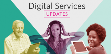 Digital Services Updates graphic