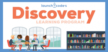The Library's Tech Access team and LaunchCode now offer the Discovery Learning Program, a new way to learn computer coding skills. The program offers anyone a pathway to training and helps reduce barriers to jobs in the rapidly growing tech field.