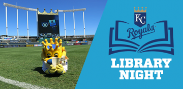 Join the Kansas City Public Library and other area library systems for this year's Library Night at the K on Tuesday, July 30, 2019, as the Royals face off against the Toronto Blue Jays. Purchase discounted game tickets at Royals.com/KCLibrary; a portion of sales support the Library's Summer Reading Program.