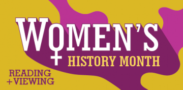 Women's History Month - Books and Film