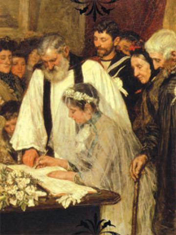 Marriage and Courtship