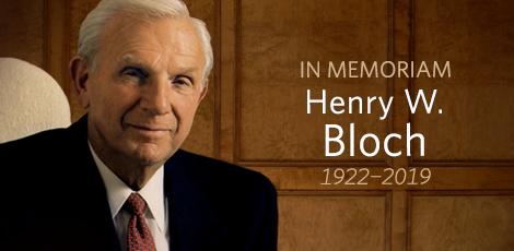 Henry W. Bloch graphic