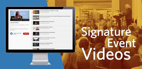 Signature event videos