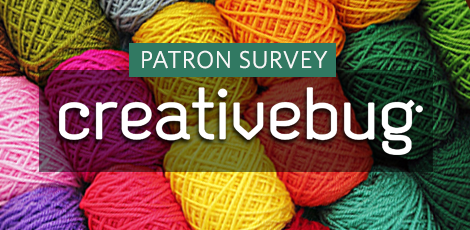 Give Creativebug a Try and Share Your Thoughts