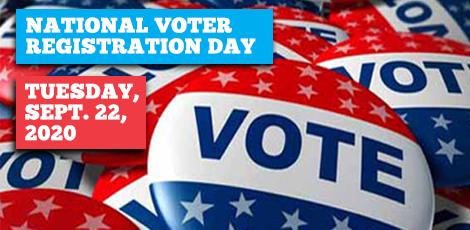 National Voter Registration Day 2020