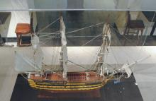 The HMS Victory alternate view