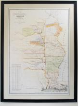 1837 Map of Western & Northern Frontier