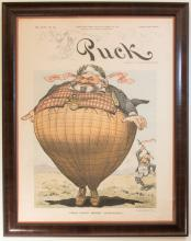1900 Cover of Puck Magazine