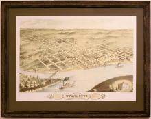 A Bird's Eye View of Wyandotte, small
