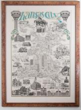 Architectural Icons of Kansas City (Blue)