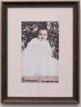 Baby Portrait (i) and Cabinet Card