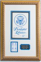 First Day Presidential Stamps, August 2005