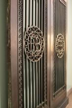 First National Bank Bronze Door detail