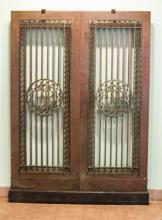 First National Bank Bronze Doors