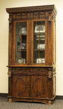 Four Lions Bookcase (V)