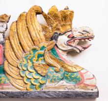 Gilded Figures on a Dragon Barge, detail