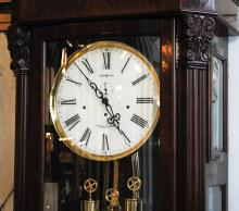 Howard Miller Presidential Collection Grandfather Clock detail