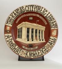 KCPL Commemorative Plate
