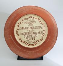 KCPL Commemorative Plate, back