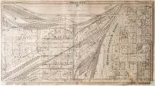 Map of Kansas City Stockyards, Plate 1
