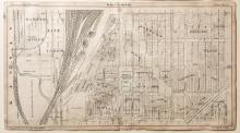 Map of Kansas City Stockyards, Plate 3