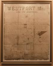 Map of Westport, MO and its editions