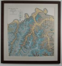 Missouri Bureau of Geology and Mines Map of Jackson County, MO