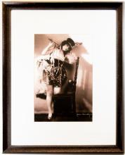 Portrait of M'lle. Rhea