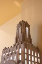 Power & Light Clock, detail