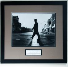 President Truman Walking the Independence Square