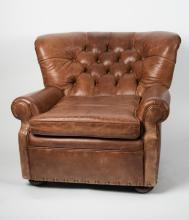 Ralph Lauren Mini Writer's Club Chair back