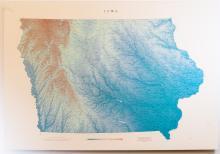 Raven Map of Iowa