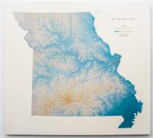 Raven Map of Missouri