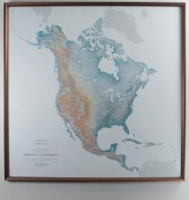 Raven Maps and Images Map of North America