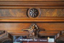Renaissance Revival Bookcase detail